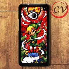Legend Of Zelda HTC One M7 Black Case