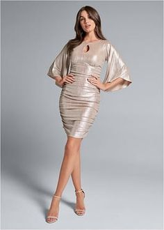 Dresses - Gemma Fashion Coats For Women, Clothes For Women, Formal Dress Shops, Going Out Outfits, Womens Clothing Stores, Ruched Dress, Buy Dress, Dress To Impress, Nice Dresses