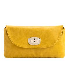 Take a look at this Shiraleah Lemon Lyra Clutch by Shiraleah on #zulily today!