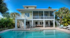 Anna Maria Vacation Rental - VRBO 375693 - 5 BR Anna Maria Island House in FL, Willow Beach House-Luxury Waterfront Home with Dock, Pool, Sp...