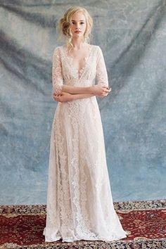 Claire Pettibone Romantique wedding gown from Little White Dress Bridal Shop in Denver, CO Claire Pettibone, Bohemian Wedding Dresses, Tulle Wedding, Spring Wedding, Wedding Hair, Wedding Blog, Gown Wedding, Bohemian Bride, Wedding Ideas