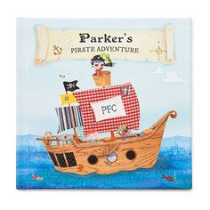 for Ashton  Little Boy's Personalized Pirate Adventure Book
