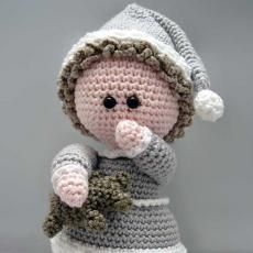 Mesmerizing Crochet an Amigurumi Rabbit Ideas. Lovely Crochet an Amigurumi Rabbit Ideas. Crochet Patterns Amigurumi, Amigurumi Doll, Crochet Dolls, Knitting Patterns, Cute Crochet, Crochet Baby, Doll Videos, Crochet Hook Sizes, Little Doll