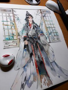 Manga Watercolor, Watercolor Paintings, Dancing Drawings, Art Drawings, Medusa Art, Character Art, Character Design, Comic Book Layout, Systems Art