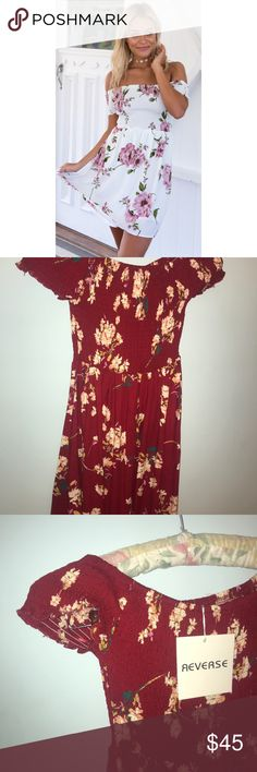 Mura Boutique Take Me Higher dress in RED The cover picture is white but the actual dress is red, I could find the original photo. Cotton material. Reaches to mid or upper thigh. Australian sizing. mura boutique Dresses Mini