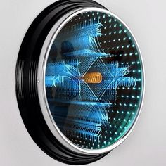 >2 : i do ~ laser etched infinity mirror | Shoghi Castel de Oro http://www.justleds.co.za