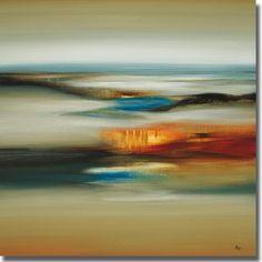 <li>Artist: Lisa Ridgers</li><li>Title: Calm Scape</li><li>Product Type: Canvas Art</li>
