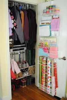 Ideas to Remodel a Small Closet : Small Closet Organization