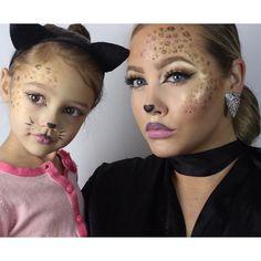 Like mother like daughter  ✨@jessanista✨ cute Halloween costume duo, love!  _ #vegas_nay #halloween #makeup