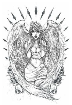 A collection of traditionally drawn stuff before i… – – Tattoo Designs Tattoo Sketches, Tattoo Drawings, Body Art Tattoos, Drawing Sketches, Art Drawings, Chicano Drawings, Fantasy Kunst, Fantasy Art, Tattoo No Peito