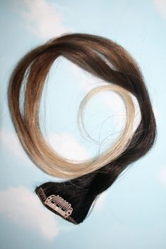 Ombre Hair Extensions Human Hair Extensions by Cloud9Jewels, $112.00