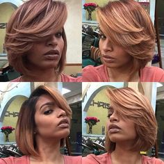 Ombre hair is tones of color that shade into each other. Here we have presented different types of the short blonde ombre hair. 2015 Hairstyles, Long Bob Hairstyles, African Hairstyles, Short Hairstyles For Women, Trendy Hairstyles, Layered Hairstyles, Hairstyle Short, Haircuts, Short Hair Cuts