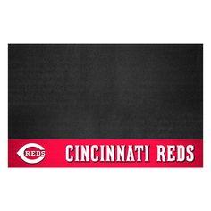Cincinnati Reds 26 in. x 42 in. Grill Mat, Multi