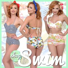 Unique Vintage Swimwear #retro