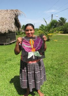 A woman from Belize