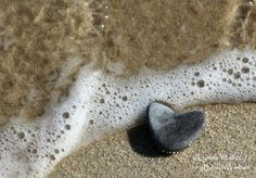Beach Stone Heart Photo- Romantic heart in the sand, beach photography, coastal photo art. Romantic heart stone photo print- Remind your love of romance at the beach with a Beach Stone Heart photo print. Summon up memories of that perfect beach day and remember that both true love and perfect heart stones are hard to find! My coastal art photo is a great gift for a beach lover. My beach themed photo works well in today's natural looking décor, the larger sizes adding a focal point on your...