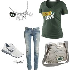 Green Bay Love, created by tcjnblanton on Polyvore