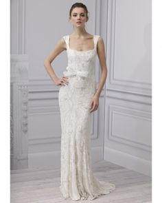 Stunning Wedding Dresses by Anna Campbell 2013 Nurit Hen Wedding Dresses 2013 monique lhuillier spring 2013 bridal collection Watters pink w. Beaded Wedding Gowns, Bridal Gowns, Gown Wedding, Wedding Attire, Monique Lhuillier Bridal, Parisienne Chic, Luxe Wedding, 1920s Wedding, Wedding App
