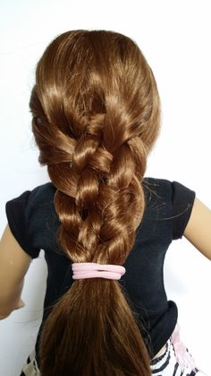 American Girl Doll Crafts and Fun!: Doll Hairstyle: 6 Strand Weave Braid