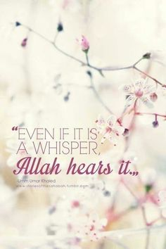 Even a whisper