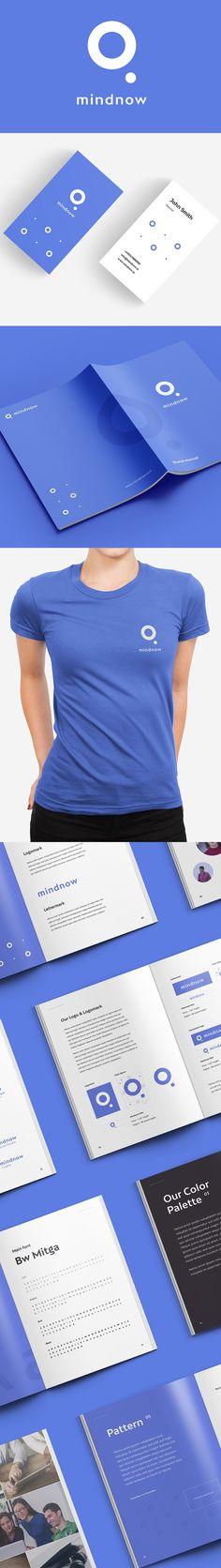 Branding: mindnow - Branding & Landing Page by Max Kardasevych - Free Corporate Identity Design, Brand Identity Design, Visual Identity, Branding Design, Logos, Logo Branding, Logo Design Examples, Graphic Design, Presentation Layout