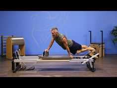 Snake on the Pilates Reformer - YouTube
