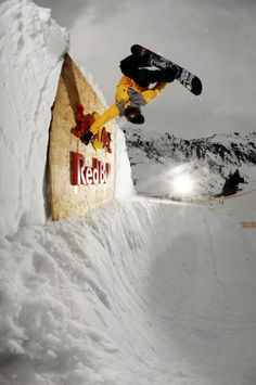That's How You Do It. #redbull #snowboard