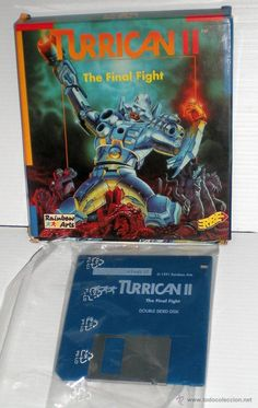 Turrican 2 The Final Fight [Rainbow Arts] [1991] Erbe Software [ATARI ST] [sin manual]