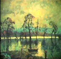 INNONDATIONS DE LA SEINE Oeuvre D'art, Les Oeuvres, Painting, Artist, Painting Art, Paintings, Painted Canvas, Drawings