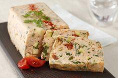 Recette de Terrine de saumon et petits légumes