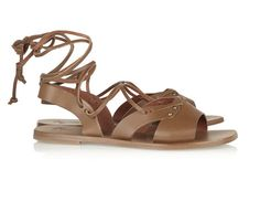 The Fling: Tomas Maier leather sandals