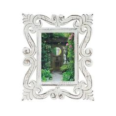 One Allium Way Boden Rectangular Picture Frame Colour: White, Picture Size: x Distressed Picture Frames, Mirrored Picture Frames, Antique Picture Frames, Picture Frame Sets, Collage Picture Frames, Photo Picture Frames, White Picture, Picture On Wood, Picture Sizes