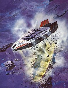 More Chris Foss — Gavin Rothery #spaceship – https://www.pinterest.com/pin/206321226659571243/