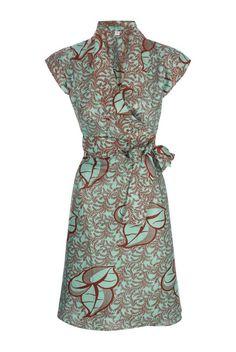 SIKA BOUTIQUE — Blossom Classic Wrap Dress