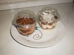 bolo no pote chocolate e chocolate com leite ninho trufado