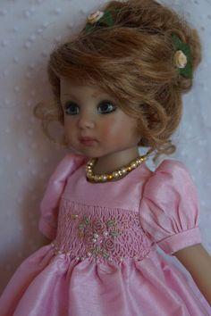 "Effner 13"" Little Darling *PARTY PRETTY* Ensemble by Ladybugs Doll Designs OOAK"