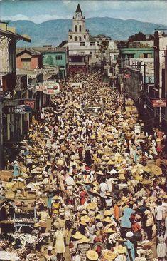#PortauPrince, #Haiti National Geographic January 1976