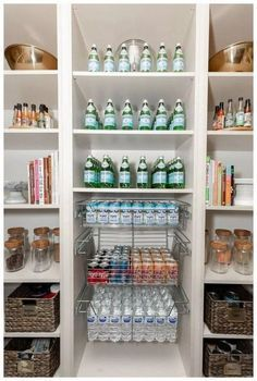 Home Organization Tips from House of Turk organizer Kate turk house of turk pantry organizer Philadelphia Malvern King of Prussia - Own Kitchen Pantry Small Pantry Organization, Kitchen Organisation, Home Organization Hacks, Organized Pantry, Organizing Life, Pantry Ideas, Small Pantry Closet, Open Pantry, Refrigerator Organization