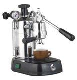 La Pavoni Professional PBB-16 Espresso Machine Black Base -- Click image for more details.