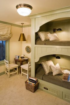 Bunk Beds for Girls in Greyhawk Home | Corrine Brown - ASID