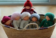 Knitted Waldorf doll by Peperuda dolls | www.etsy.c… | Flickr - Photo Sharing!