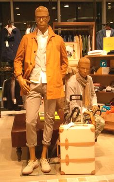 マスタードカラーのジャケットが素敵** 2013メンズの気になる春物