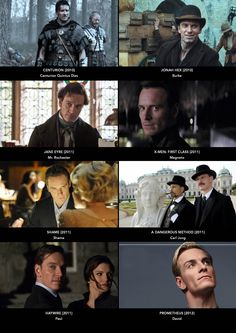 Filmography 2010-2012:  The embodiments of every character he's portrayed require ten dollar words in order to even begin to describe what he's telling us and how brilliant a fashion in which he tells. There isn't an adjective – positive or explanatory – that one could not use to trace over what Fassbender has marvelously laid to film.