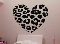 Adesivo de parede #quarto feminino #coração