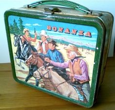 My daughter collects old lunch boxes with Western theme.  They get really expensive!!!