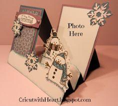 Snowman Side Step Card