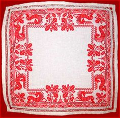 русская вышивка-russian embroidery