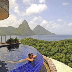 Jade Mountain Resort in St. Lucia
