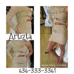 Homecoming Dress - www.artiztabridal.com