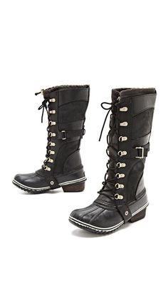 I could wear these everyday in the winter! Sorel Conquest Carly Boots